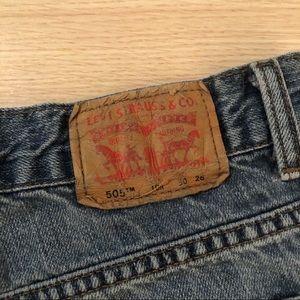 $10 Sale | 505 Levi's Jean Shorts